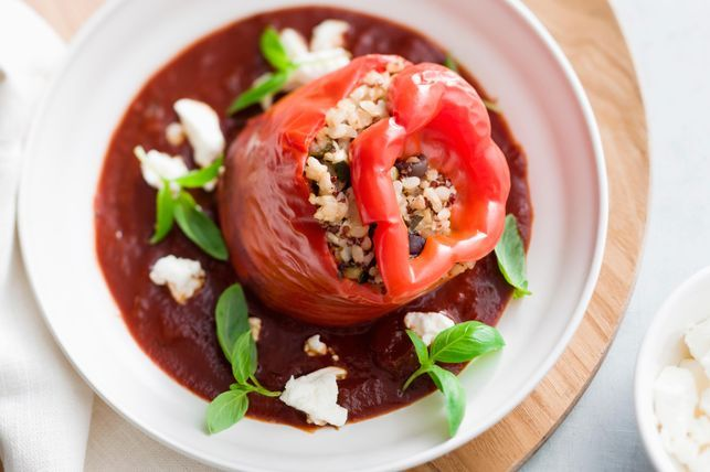 Slow Cooked Capsicums